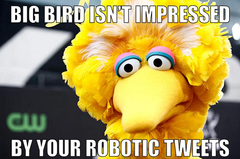 big bird is right!